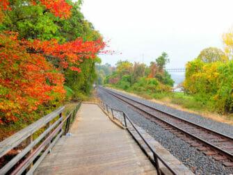 Metro North Railroad en el norte del Estado de Nueva York