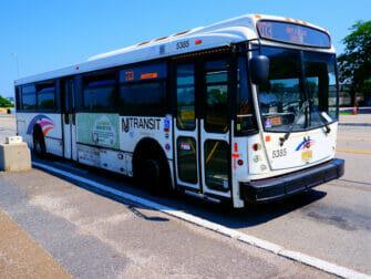 New Jersey Transit en Nueva York NJ Transit- Bus local