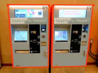 New Jersey Transit en Nueva York NJ Transit- Tickets