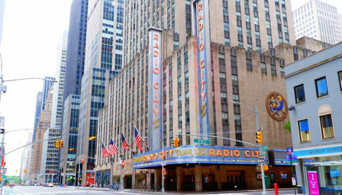 Radio City Music Hall en Nueva York - El lugar por fuera