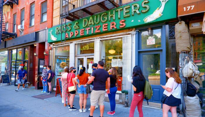 Los mejores bagels de Nueva York - Russ and Daughters