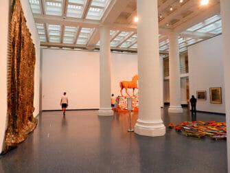 Brooklyn Museum en Nueva York - Dentro del museo