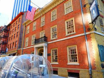 Tours de Hamilton en Nueva York - Fraunces Tavern