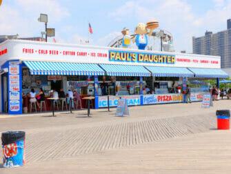 Denos Wonder Wheel Amusement Park in Coney Island Snack Bar