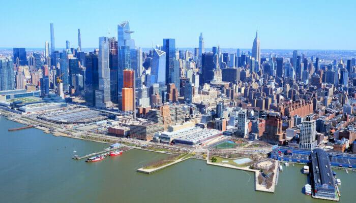 Manhattan en Nueva York - Skyline
