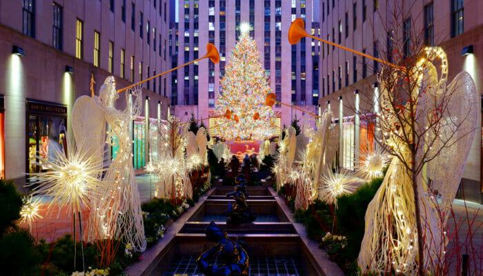 Ceremonia de encendido del árbol navideño en Rockefeller Center - Ceremonia del encendido del árbol